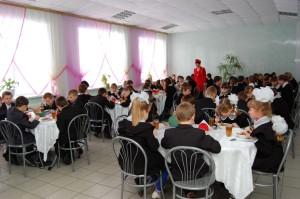 новая столовая МОБУ Ичалковская СОШ